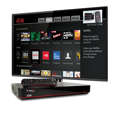 The Hopper - Voice remotes and DVR - BAY CITY, TX - The WIRELESS STORE - DISH Authorized Retailer