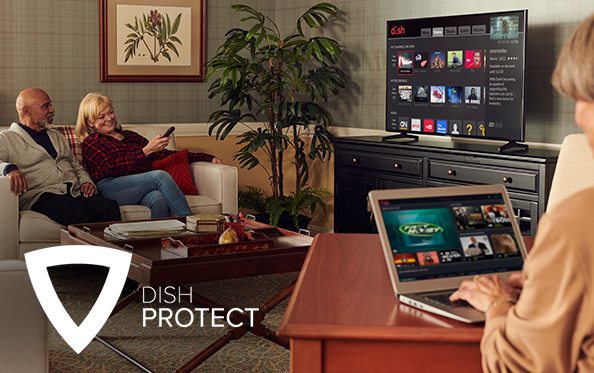 Get DISH Protect from The WIRELESS STORE in BAY CITY, TX